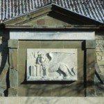 Porta di S.Alessandro - il Leone di S.Marco in pace