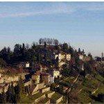 nvisibile dalla città...ma visto dal Monte Bastia