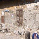 Porta S Lorenzo - la facciata della casermetta