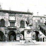 Palazzo della Ragione con Garibaldi, sloggiato poco dopo