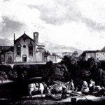 """il """"foppone"""" di S.Agostino nel '800"""