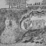 Baluardo di S.Michele - prospetto della cannoniera est