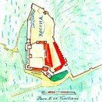 il complesso nelle antiche mape