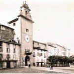 Piazza Mascheroni, ex piazza nuova, ex piazza vecchia e torre dell'orologio
