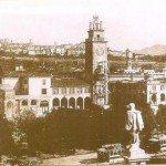 1928, la Torre dei Caduti da poco inaugurata