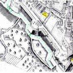 il percorso verde nelle vecchie mappe