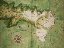 1566 pianta progetto - Mura e colli - AS Torino