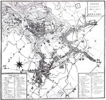 1790ca mappa Giacomo Botta - la prima moderna