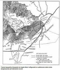le vicinie -mappa A.Mazzi 1884