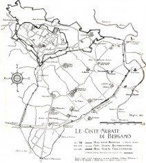 cinte murate - mappa LAngelini 1952