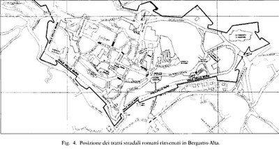 tratti di strade romane