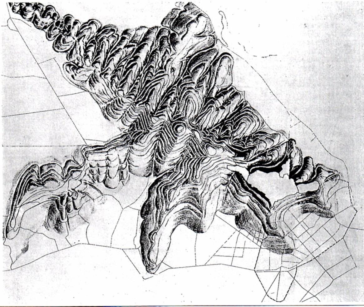Orografia dei colli di Bergamo - 1993 Fumagalli