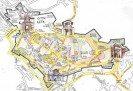allegra mappa moderna di Città Alta