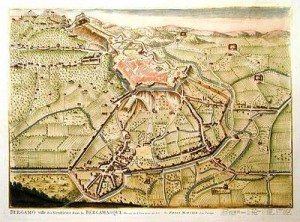 nella mappa Mortier del 1704