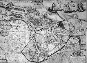 mappa di Stefano Scolari 1680