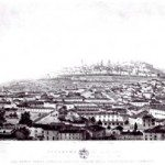 1830ca panorama -acquatinta Lucchini Citterio