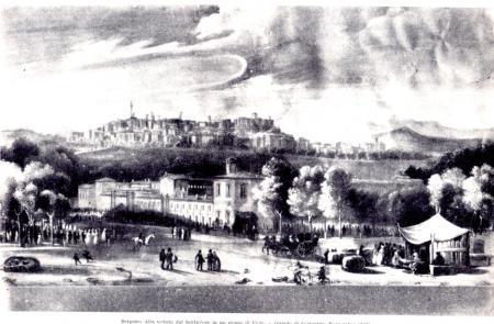 1835ca dipinto Costantino Rosa- dalla fiera nuova