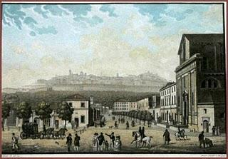 1840  vista S.Bartolomeo - dipinto G.Berlendis