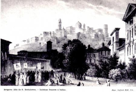 1860ca vista da S.Bartolomeo- inc.francese - Mai