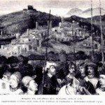 1525ca affresco per visita del per re Cristiano a Colleoni