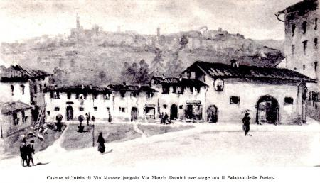 1890ca via Masone - tempera G.Gaudenzi