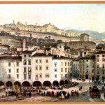 1851 vista da piazza Pontida - racc Gaffuri