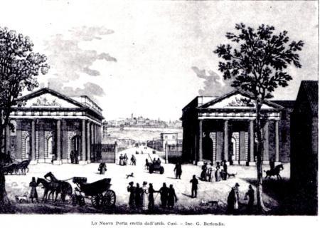 1840ca dalla Nuova Porta -inc.rame G.Berlendis