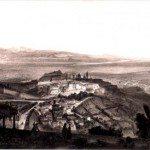 1840ca vista da S.Vigilio -dipinto Guesdon-Jacottet