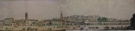 1815 dalla vecchia fiera - dipinto R..Zanoni- bibl.Mai