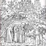 "1450 Bergamum - da ""Vita di S.Benedetto"""