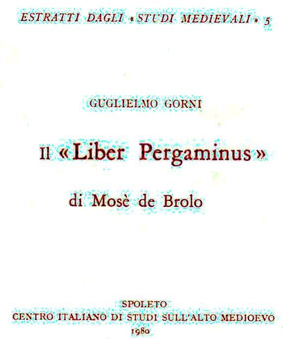 24 - Liber pergaminus Mosè del Brolo