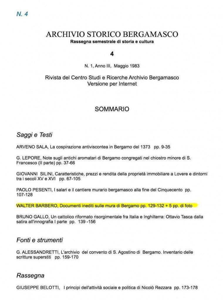 Rivista-04 1983 - Archivio Bergamasco - inediti