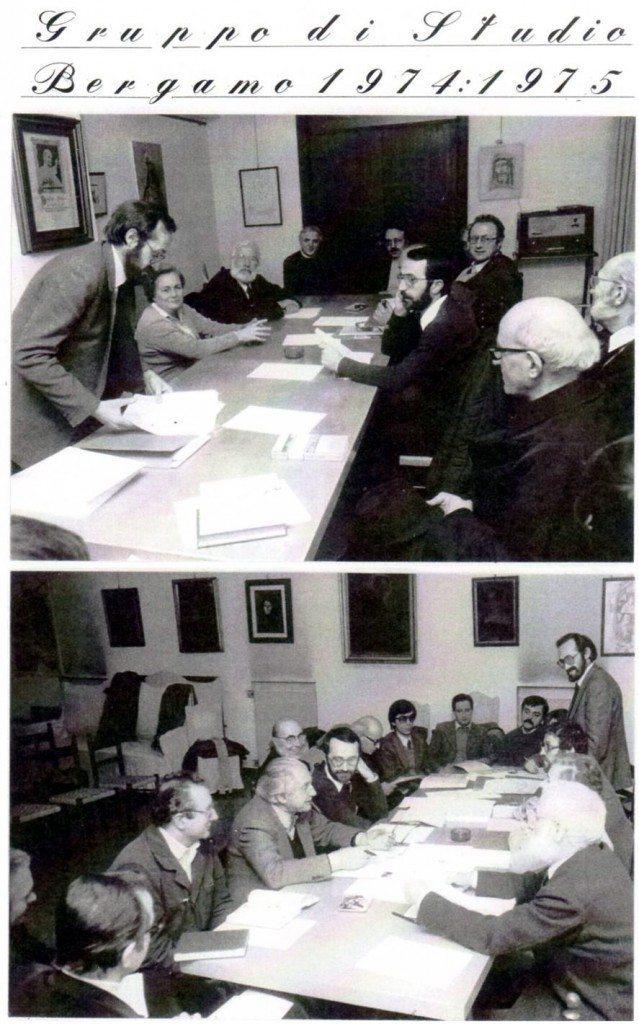 gruppo lavoro 1974