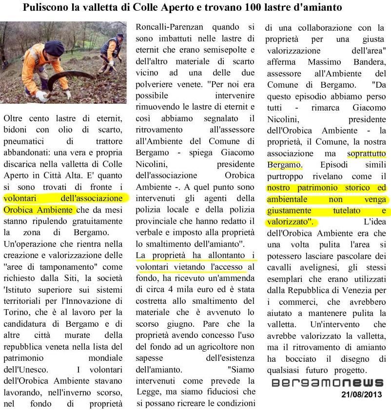 130821 orobicambiente -amianto in valverde