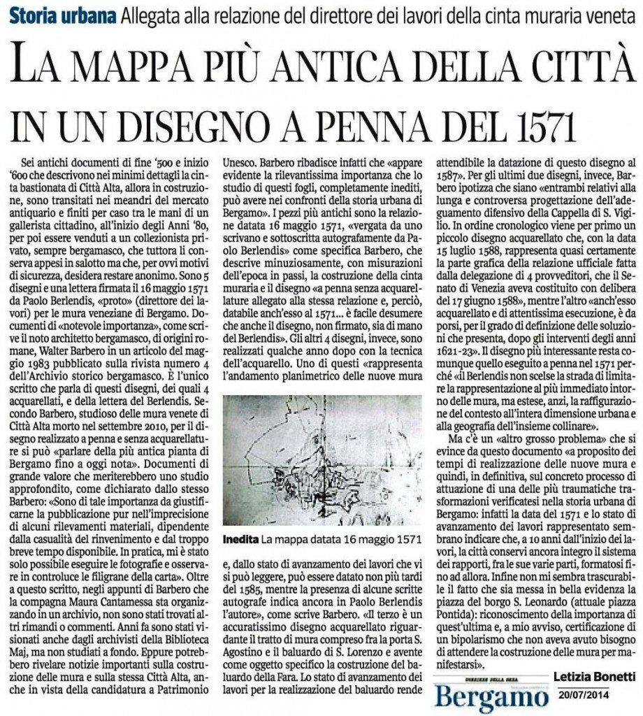 140720 corsera - antica mappa 1571