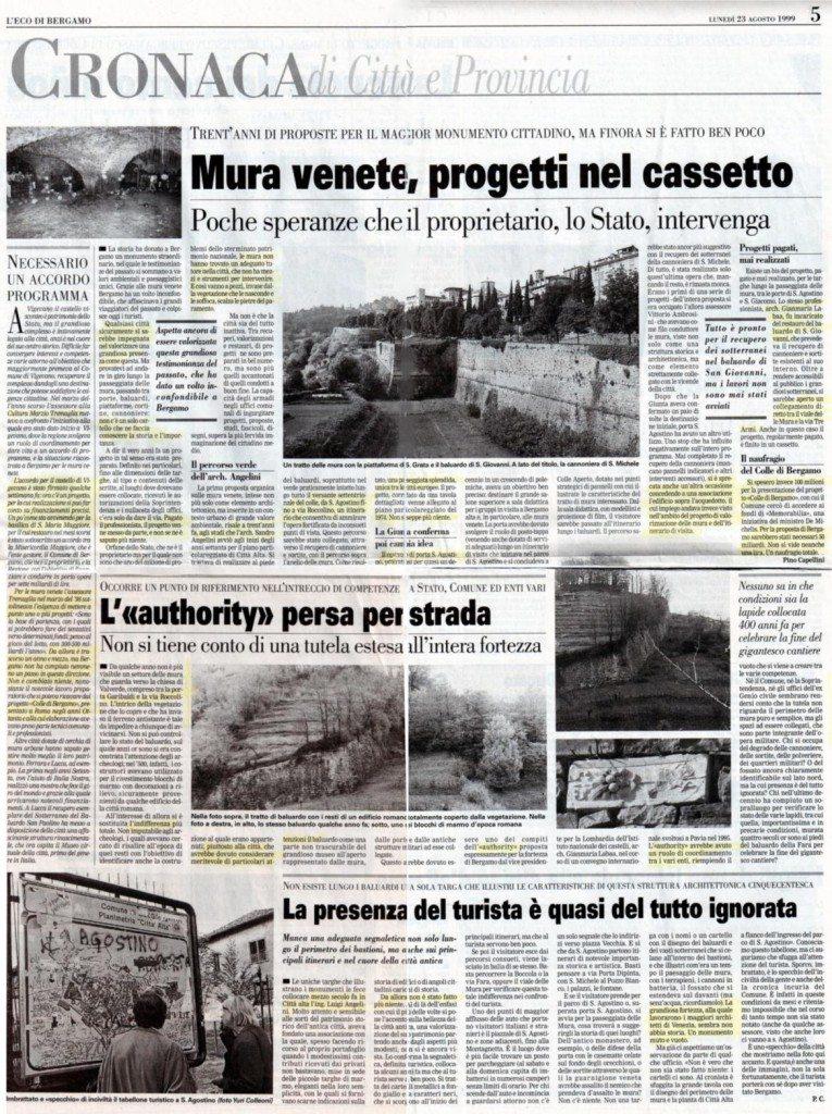 19990823 progetti persi per le mura