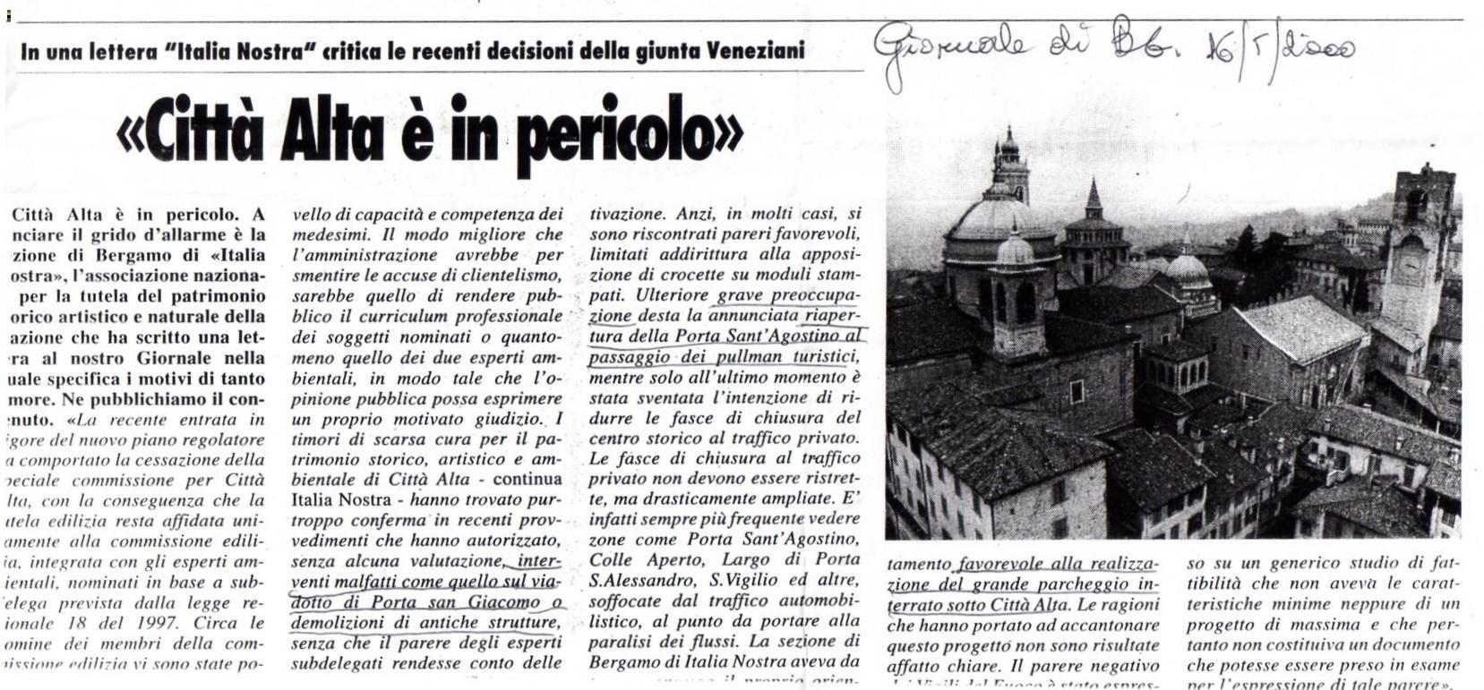 20000516 protesta italia nostra