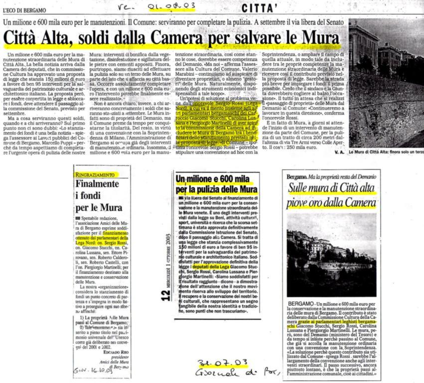 20030831 stanziati fondi Lega