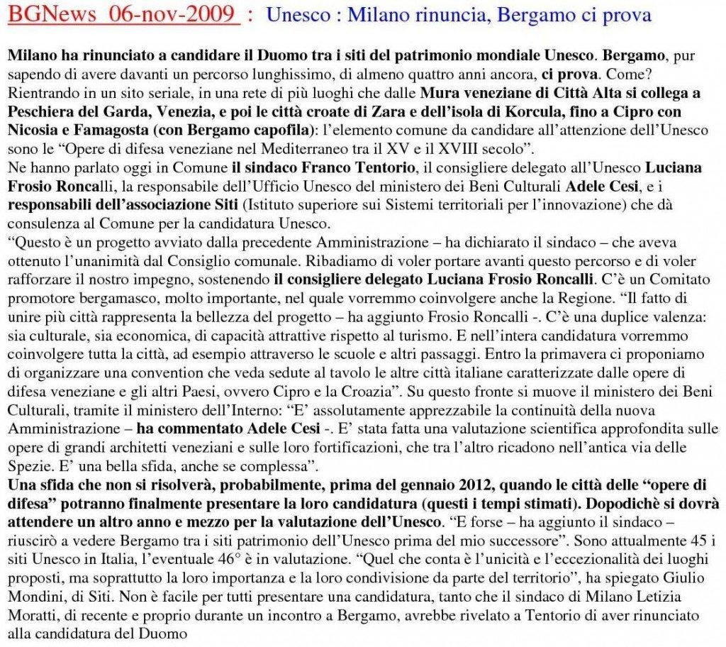 20091106 UNESO -Bgnews