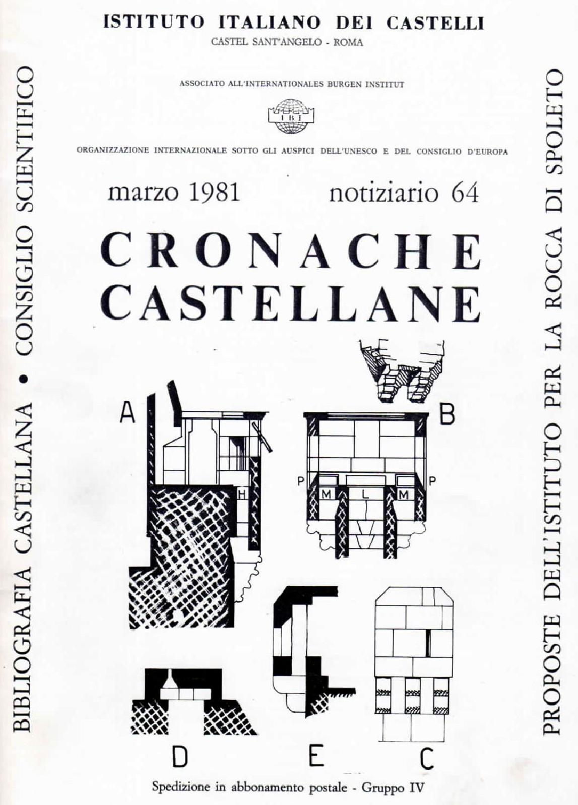Libro - Cronache castellane 03-1981 -Labaa