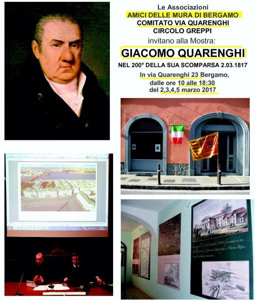 Mostra su Giacomo Quarenghi