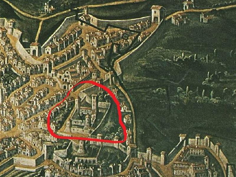La costruzione della Rocca