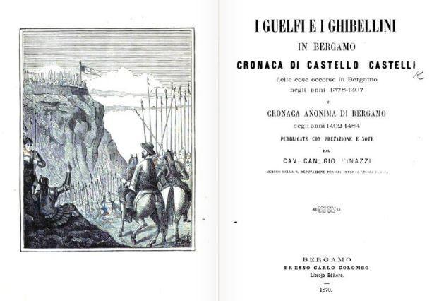 Personaggi Storici Bergamaschi: Castello Castelli