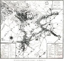 4 BG 1825 incisione Mappa Mazzoleni