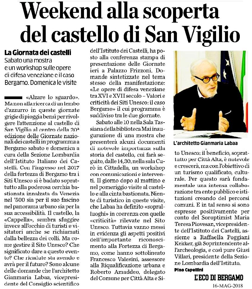 180516 giornata Castelli -eco