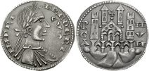 Moneta Bg -Grosso_da_6_imperiali_di_federico_II,_1220-1250 - wiki